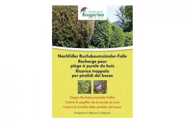 Buchsbaumzünsler-Falle Nachfüllset 2 Dispenser