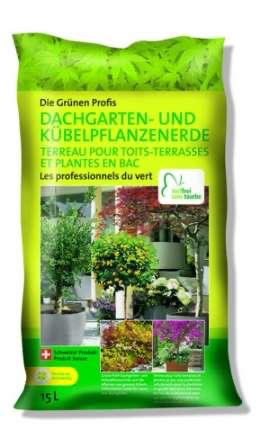 Dachgarten- & Kübelpflanzenerde